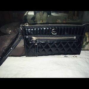 Coach Patent Leather Wristlet Wallet